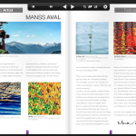 Manss Aval featured in the Club Collection Catalog Embler Art